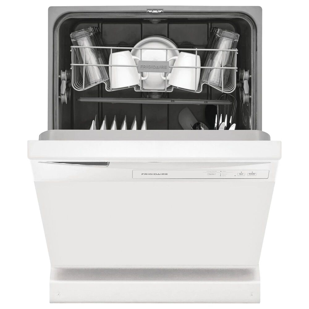 """Frigidaire 24"""" Built-In Dishwasher with 5 Level Wash System in White, , large"""