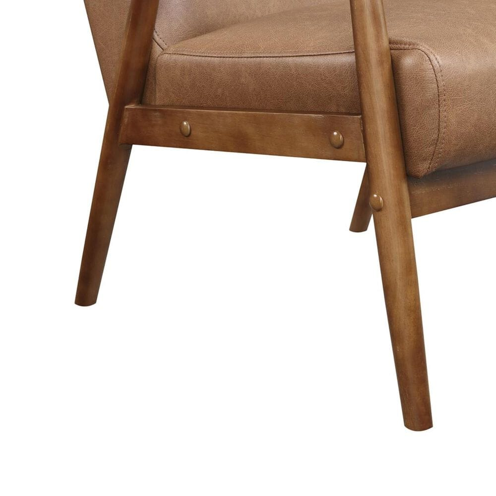 Accentric Approach Accentric Accents Benton Accent Chair in Brown, , large