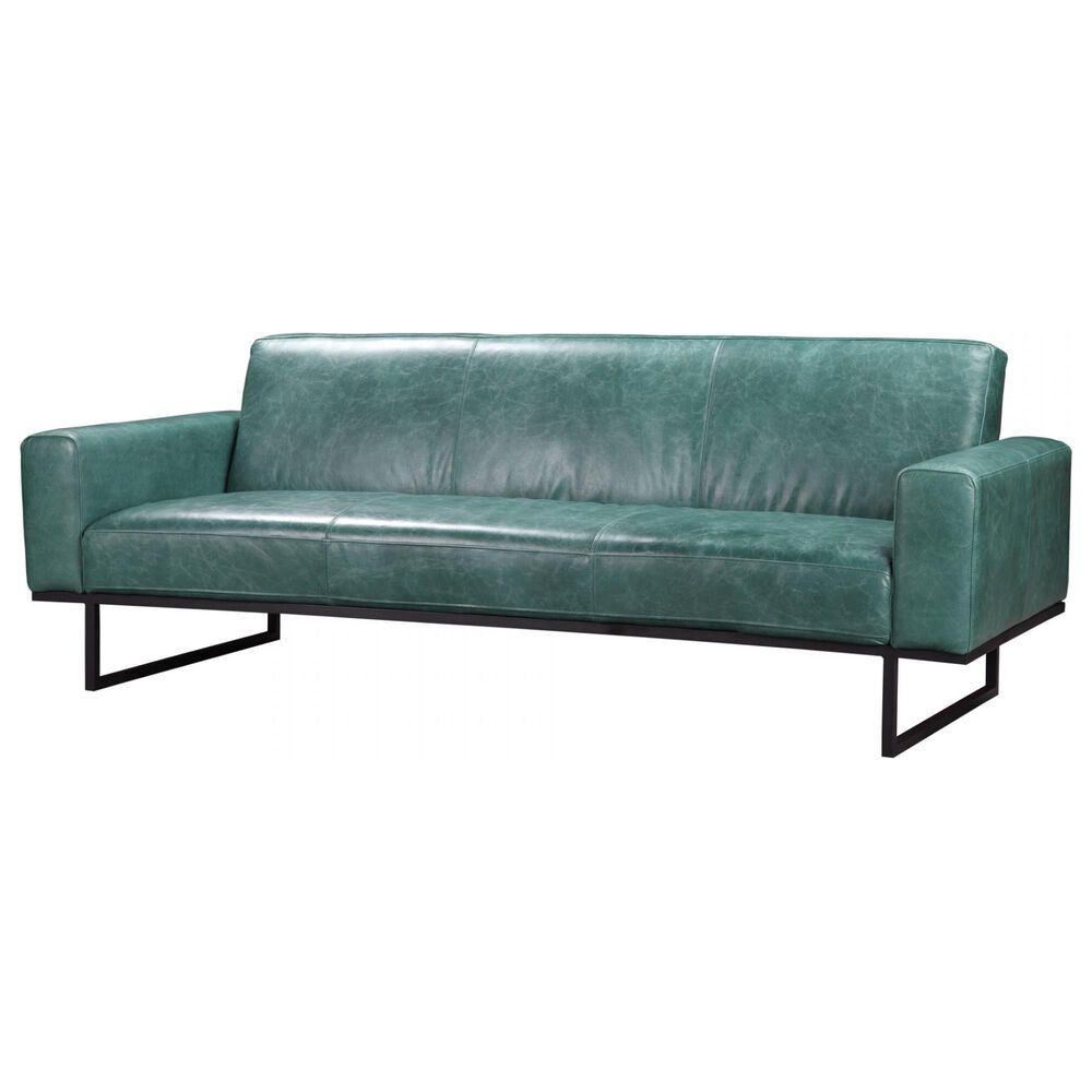 Moe's Home Collection Brock Sofa in Blue, , large