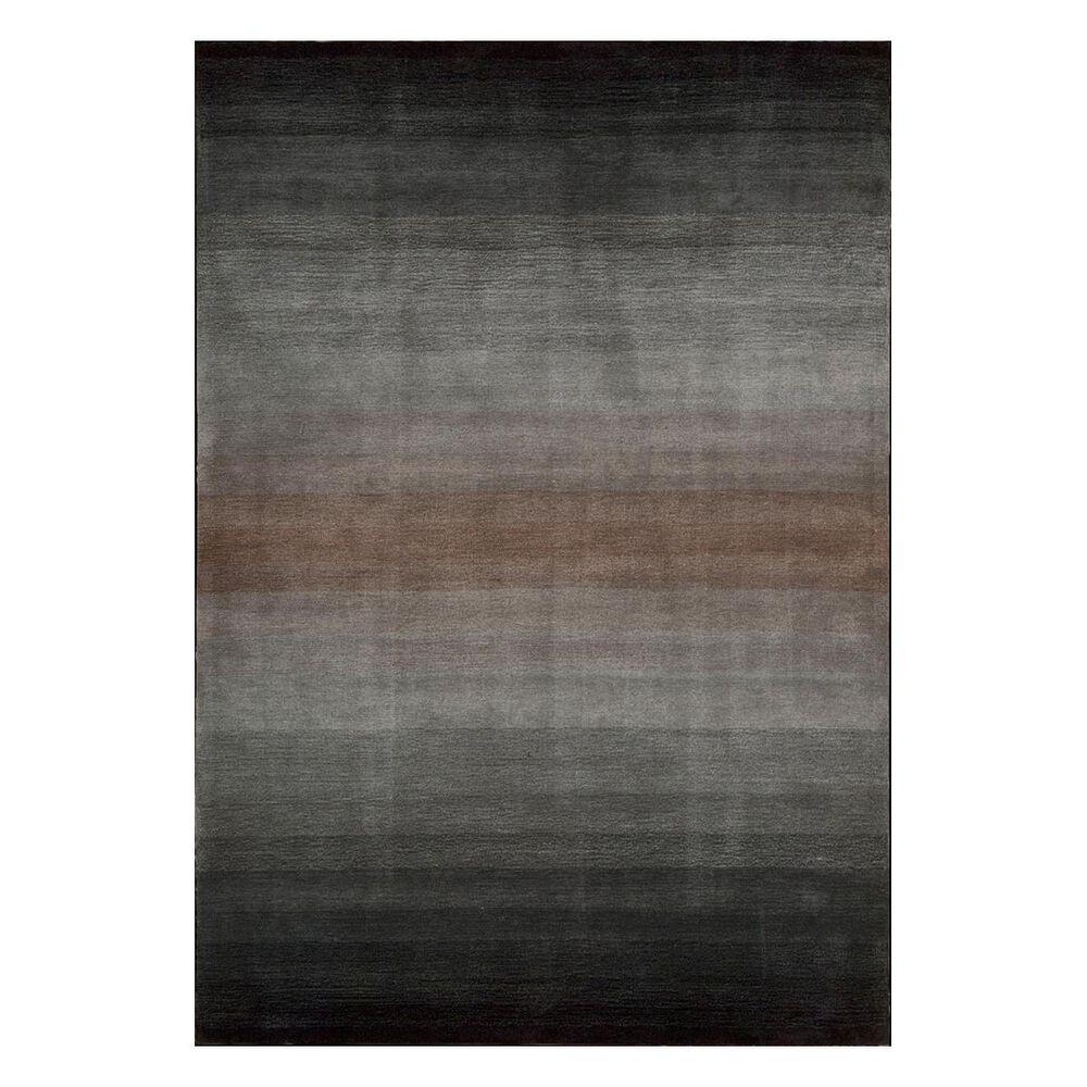 """Nourison Contour CON08 3'6"""" x 5'6"""" Grey Area Rug, , large"""