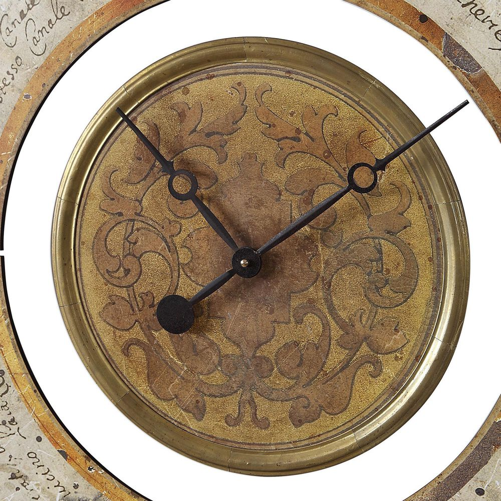 Uttermost Ezekiel Wall Clock, , large