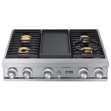 """Dacor 36"""" Natural Gas Rangetop in Stainless Steel, , large"""
