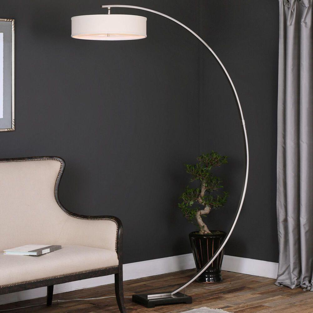 Uttermost Tagus Floor Lamp, , large