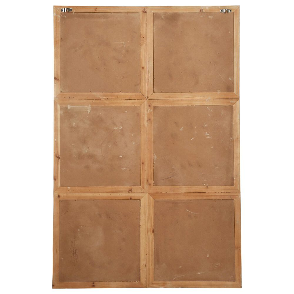 Maple and Jade Vintage Wood Wall Decor in Brown, , large