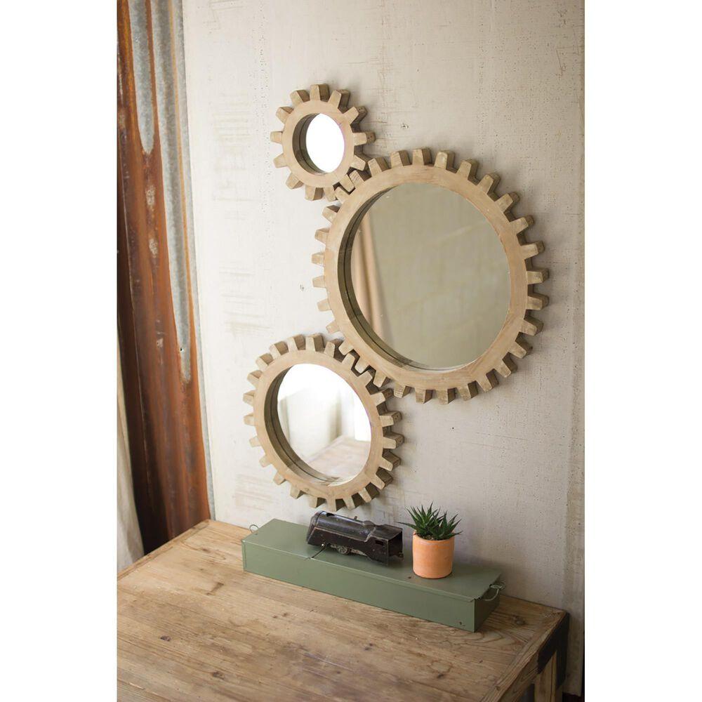 Kalalou Round Wall Mirror (Set of 3), , large