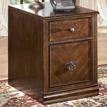 Signature Design by Ashley Hamlyn File Cabinet in Medium Brown, , large