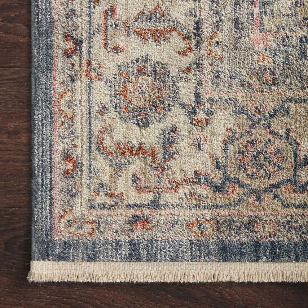 """Magnolia Home Janey JAY-03 2'7"""" x 4' Indigo Area Rug, , large"""