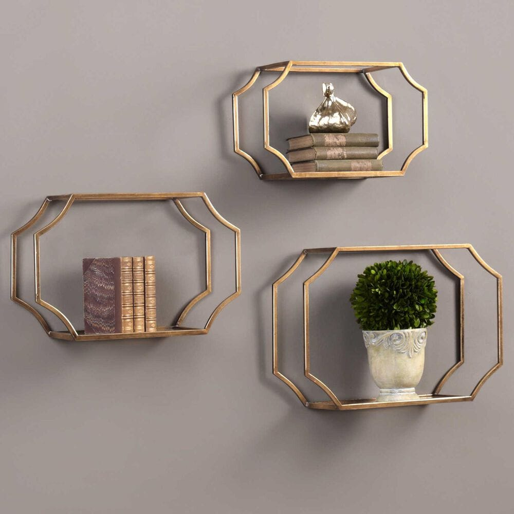 Uttermost Lindee Wall Shelf (Set of 3), , large