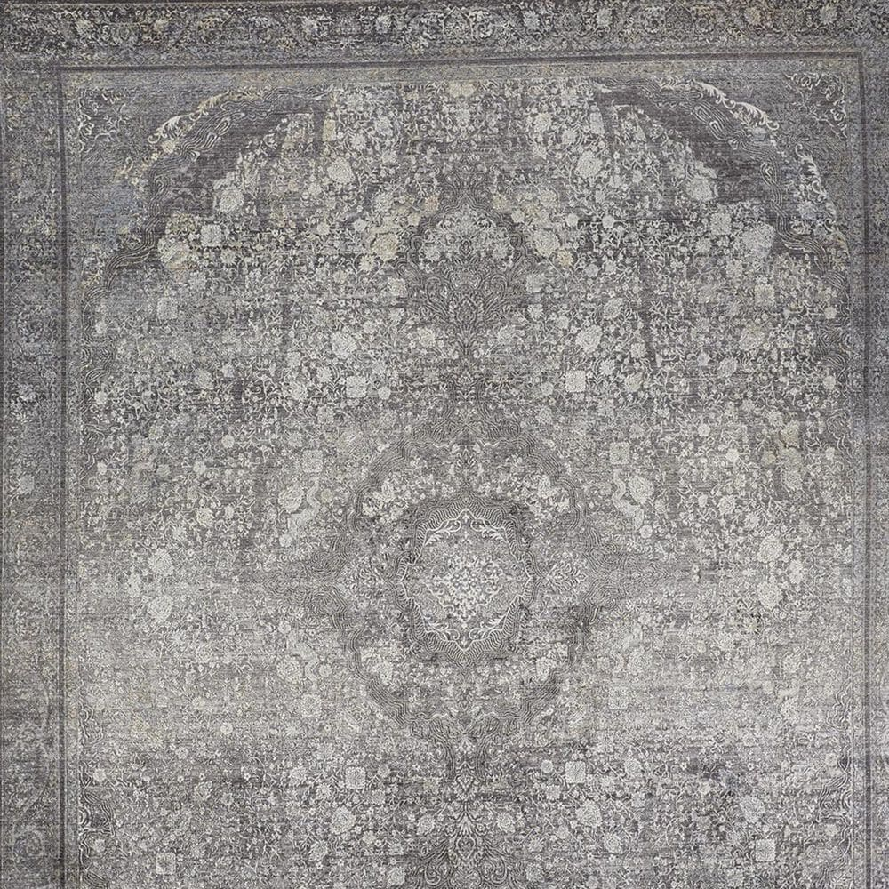 """Feizy Rugs Sarrant 3967F 6'7"""" x 9'10"""" Charcoal Area Rug, , large"""