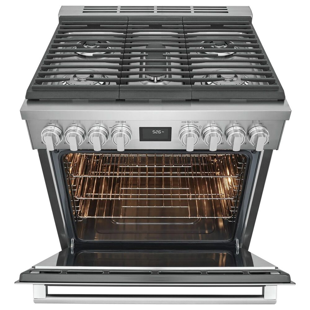 """Electrolux 30"""" Dual-Fuel Freestanding Range in Stainless Steel, , large"""