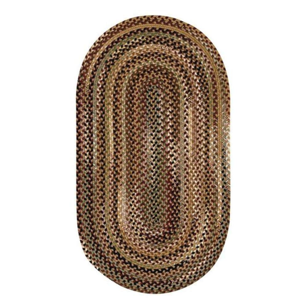 "Capel Gramercy 0070 5'6"" Round Tan Area Rug, , large"