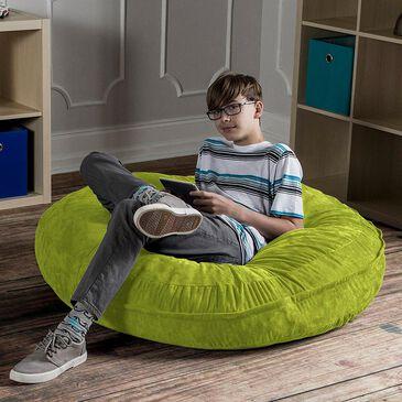 Jaxx 4' Cocoon Kids Bean Bag in Lime, , large