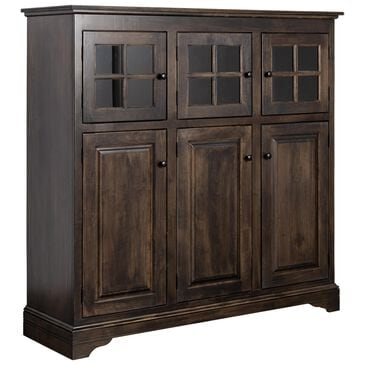 Palettes by Winesburg New England Cabinet in Dark Brown Finish, , large