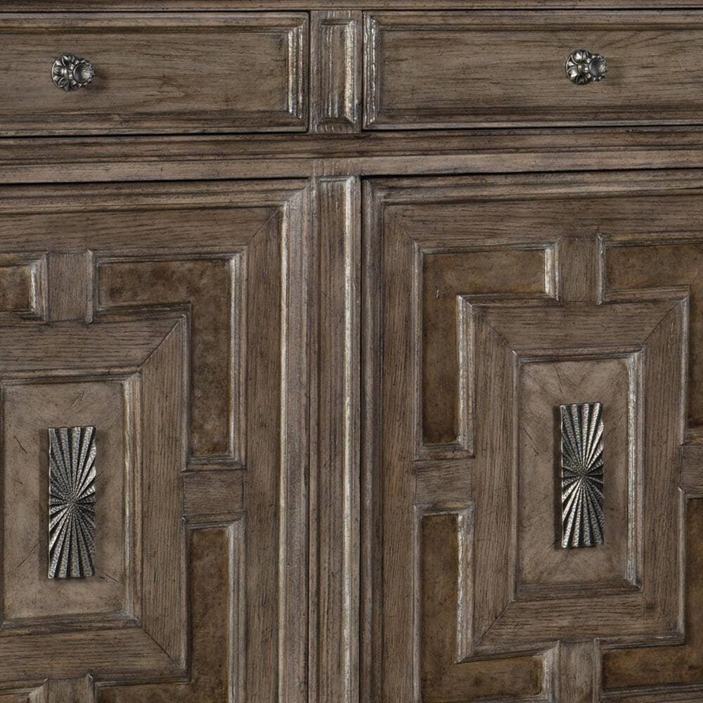 Hooker Furniture Woodlands Buffet in Heathered Lambswool, , large