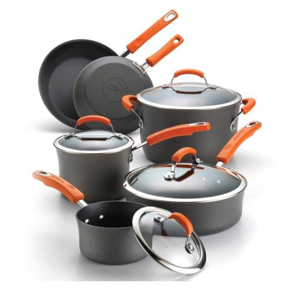 Rachael Ray 10 Piece Hard Anodized Cookware Set , , large