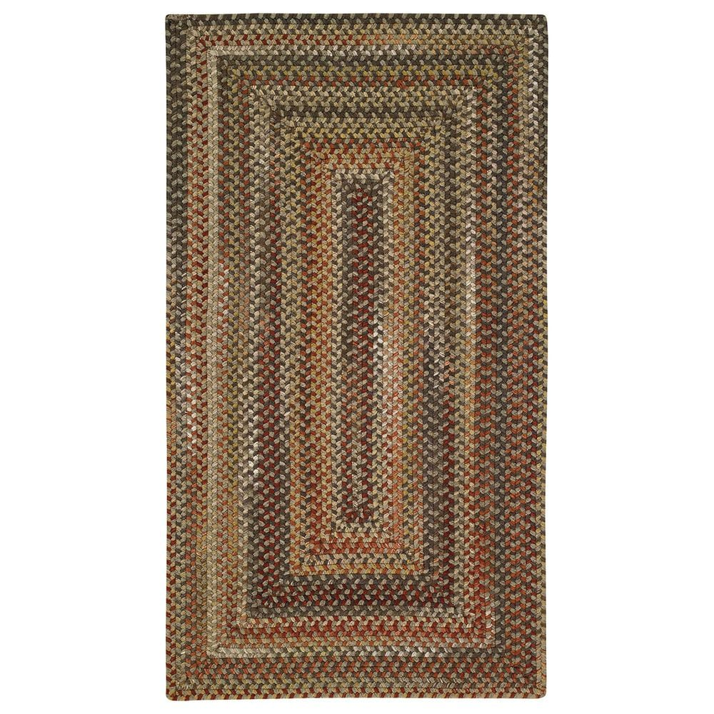 Capel Homecoming 0048-700 3' Square Chestnut Brown Area Rug, , large