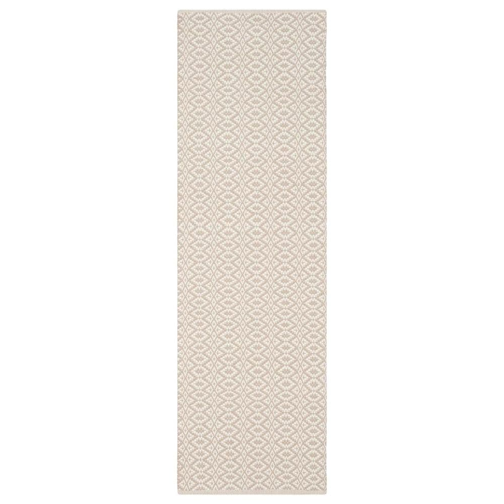 "Safavieh Montauk  2'3"" x 7' Ivory and Beige Runner, , large"