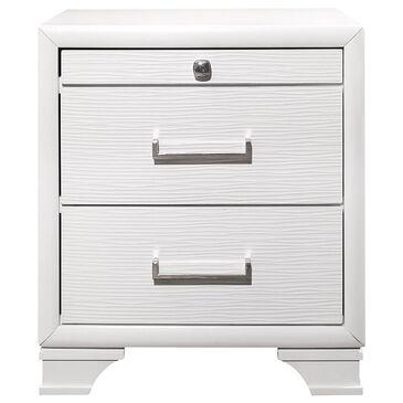 Global Furniture USA Jordyn Nightstand in White, , large
