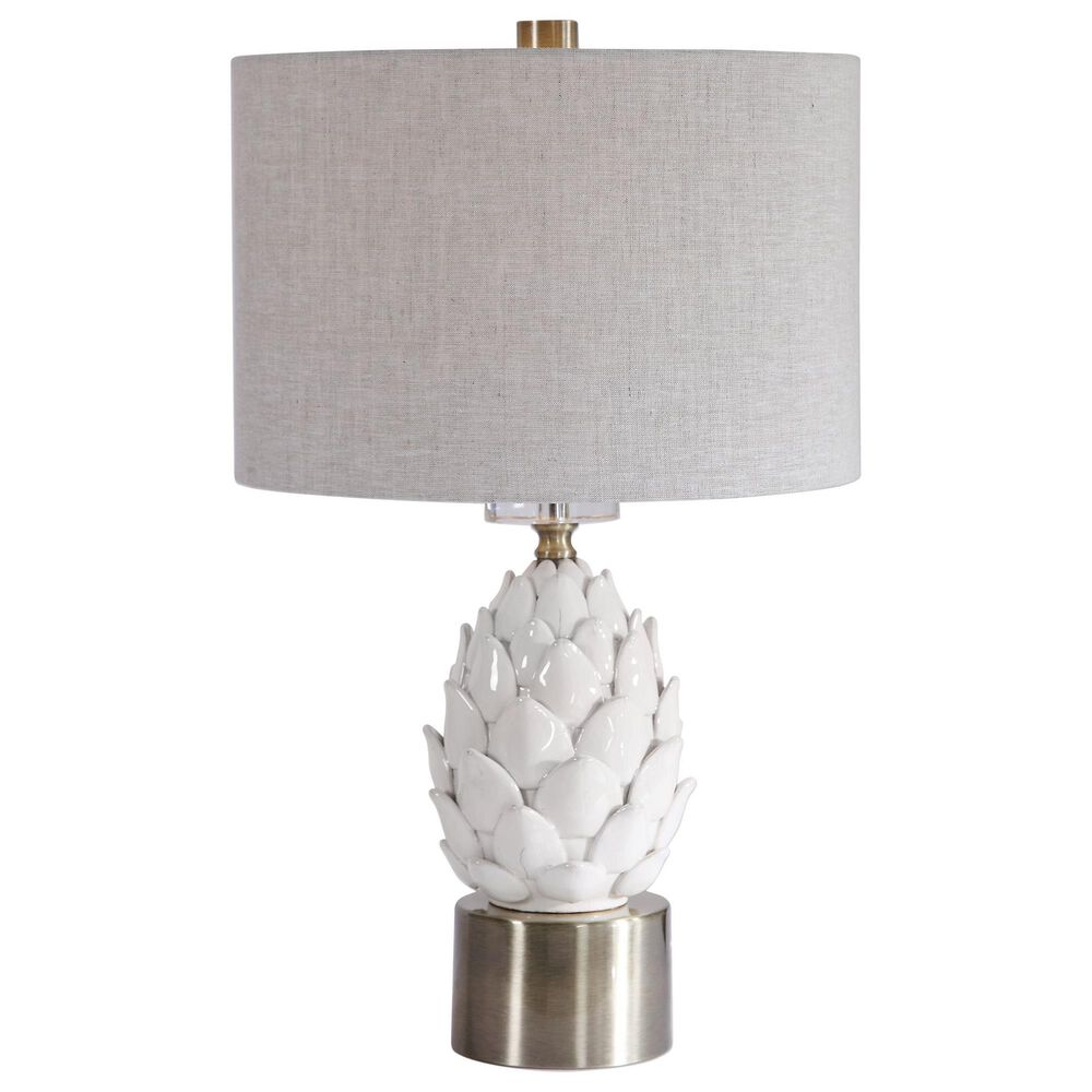 Uttermost Table Lamp in White, , large