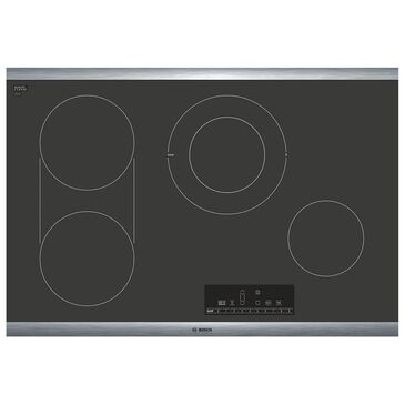 """Bosch 30"""" 800 Series Touch Control Electric Cooktop in Black, , large"""