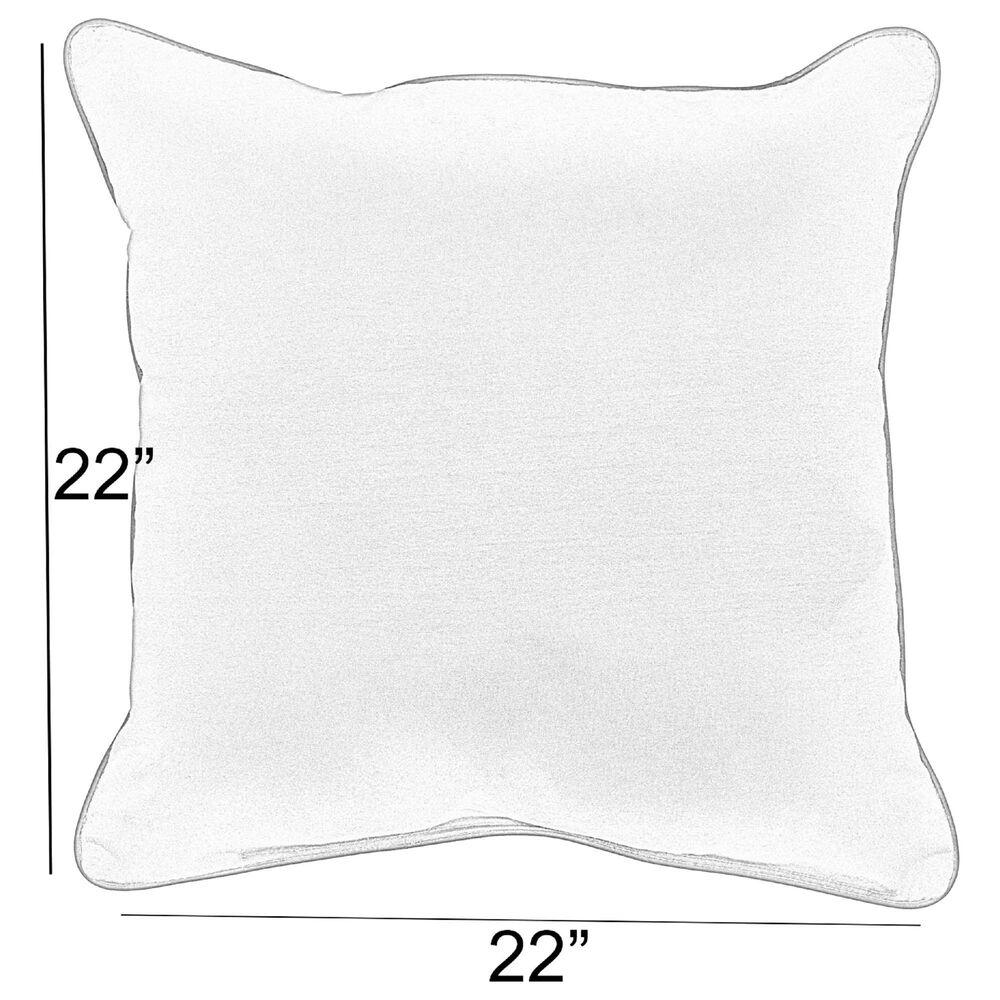 "Sorra Home Sunbrella 22"" Pillow in Canvas Antique Beige (Set of 2), , large"