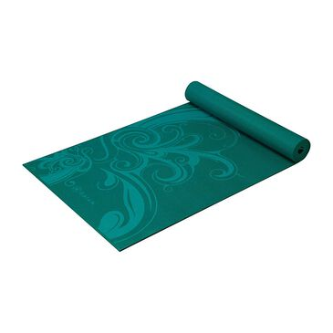 Gaiam 5mm/6mm Yoga Mat in Turquoise Surf, , large