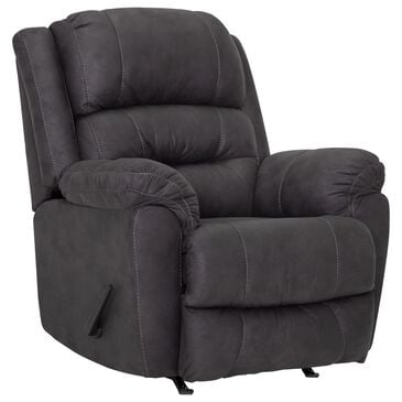 Moore Furniture Barstow Rocker Recliner in Scottsdale Charcoal, , large