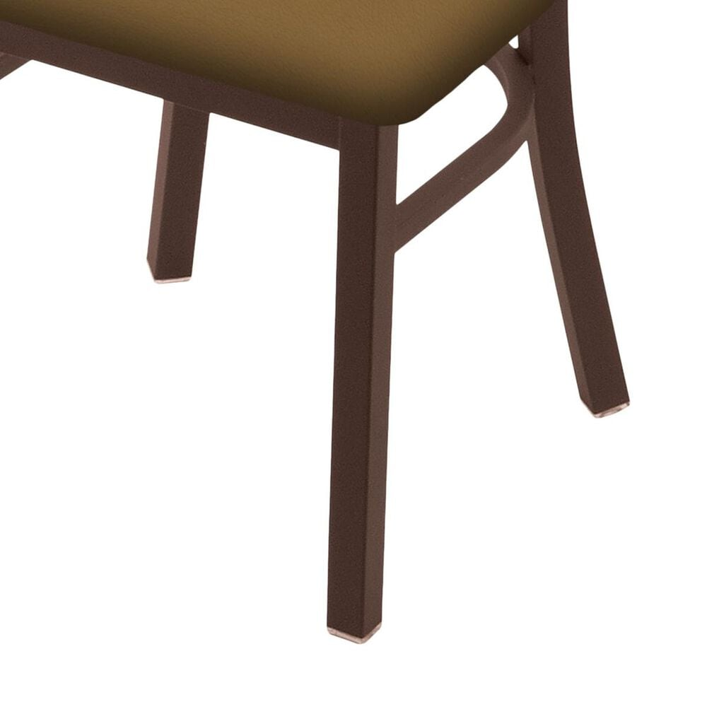"""Holland Bar Stool 620 Catalina 18"""" Chair with Bronze and Canter Saddle Seat, , large"""