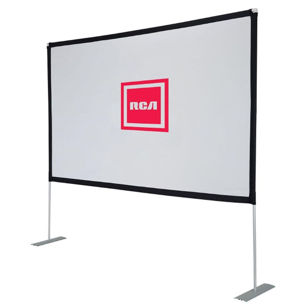 "RCA 100"" Diagonal Projector Portable Screen, , large"