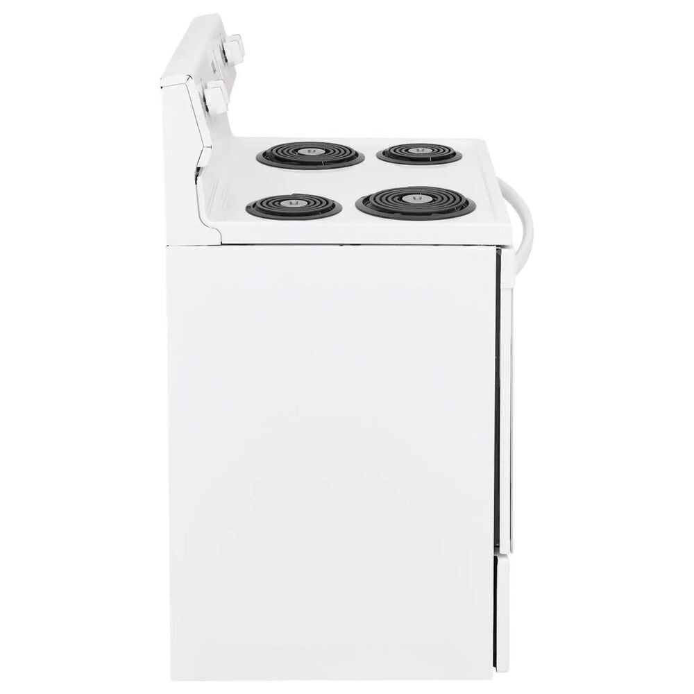 Frigidaire 30'' Electric Range with Coil-Top in White, , large