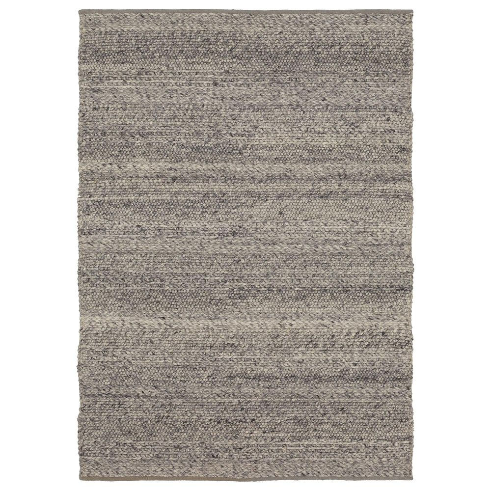 Karastan Tableau RG181-131 5' x 8' Umbra Grey Area Rug, , large