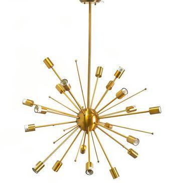 Mercana Edisonna II 20-Light Chandelier in Gold, , large