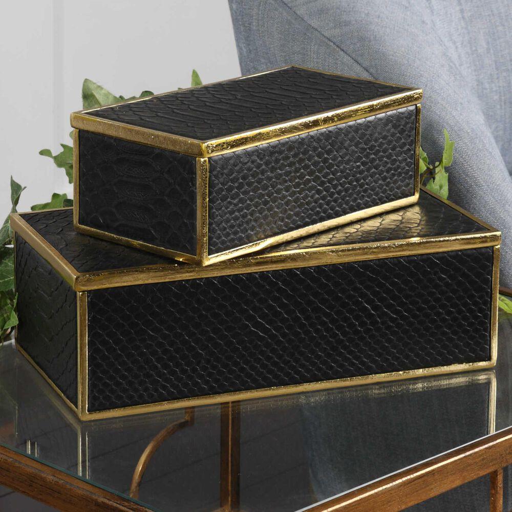Uttermost Ukti Aligator Boxes (Set of 2), , large