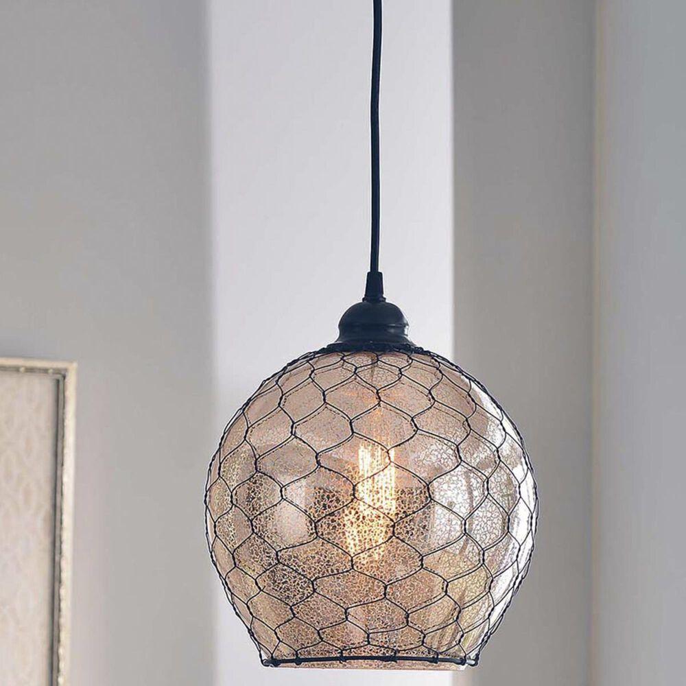 Kenroy Nillo 1-Light Pendant in Glass, , large