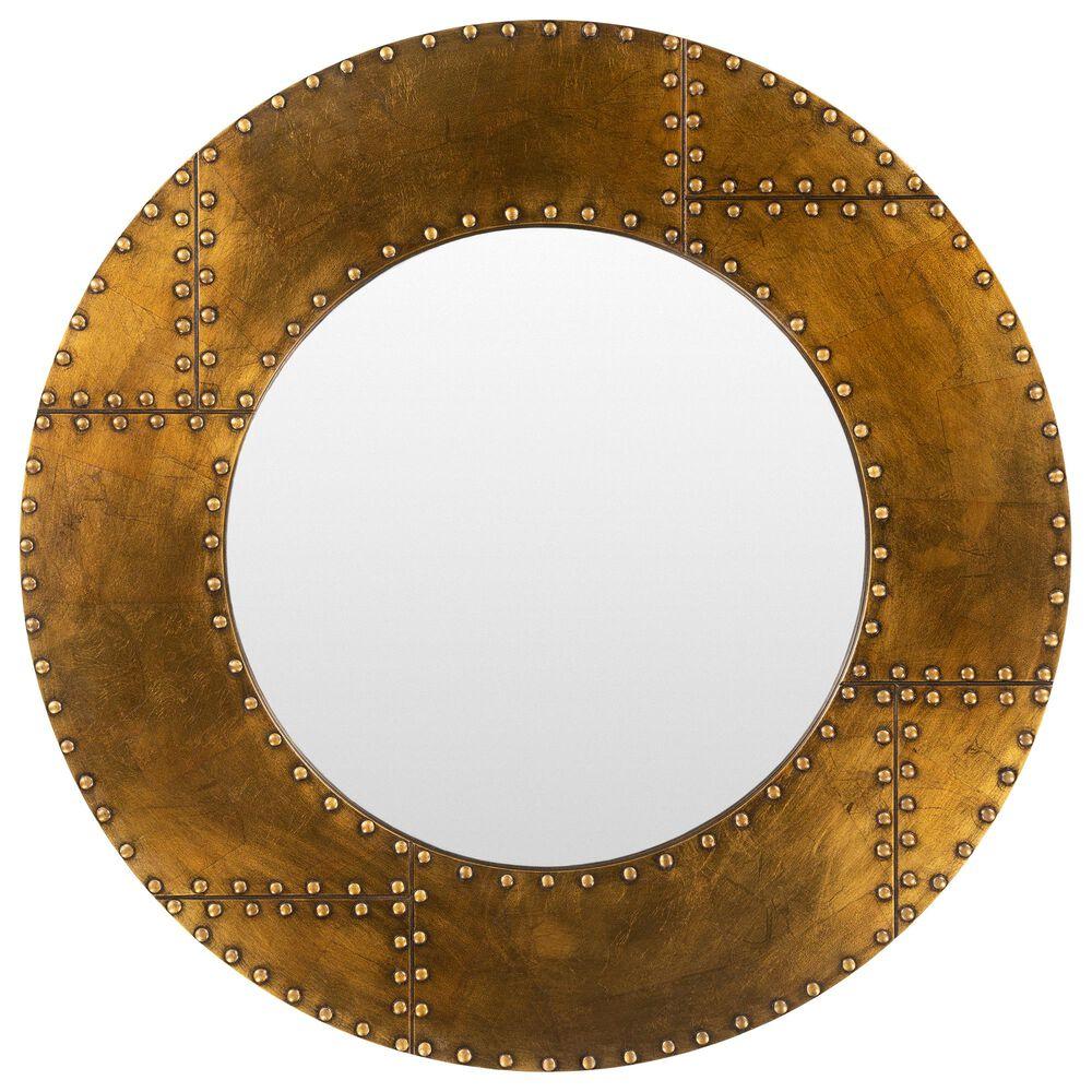 Surya Inc Eunice Wall Mirror in Brown, , large