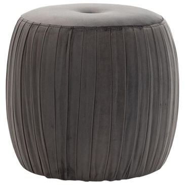 Tov Furniture Sommer Ottoman in Grey, , large