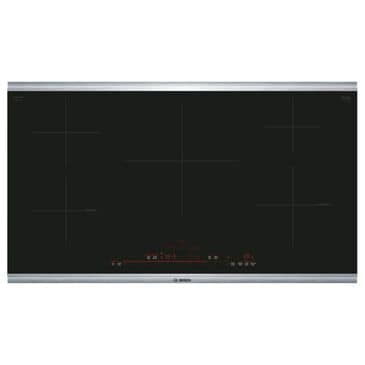 """Bosch 36"""" Induction Cooktop with Stainless Steel Frame in Black, , large"""
