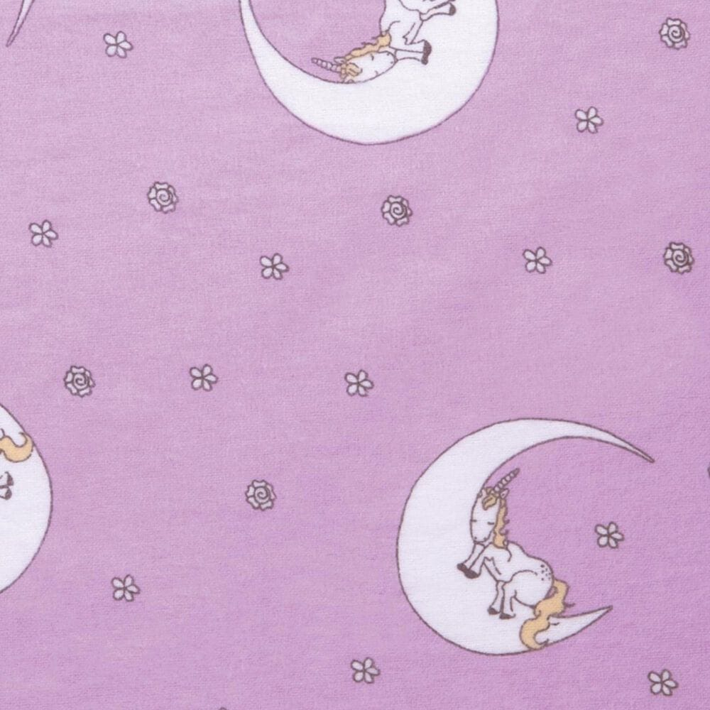 Trend Lab LLC Unicorn Moon Deluxe Flannel Fitted Crib Sheet, , large