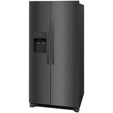 "Frigidaire 22.3 Cu. Ft.  33"" Standard Depth Side by Side Refrigerator in Black Stainless Steel , , large"