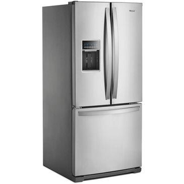 "Whirlpool 30"" Wide French Door Refrigerator in Fingerprint Resistant Stainless Steel , , large"