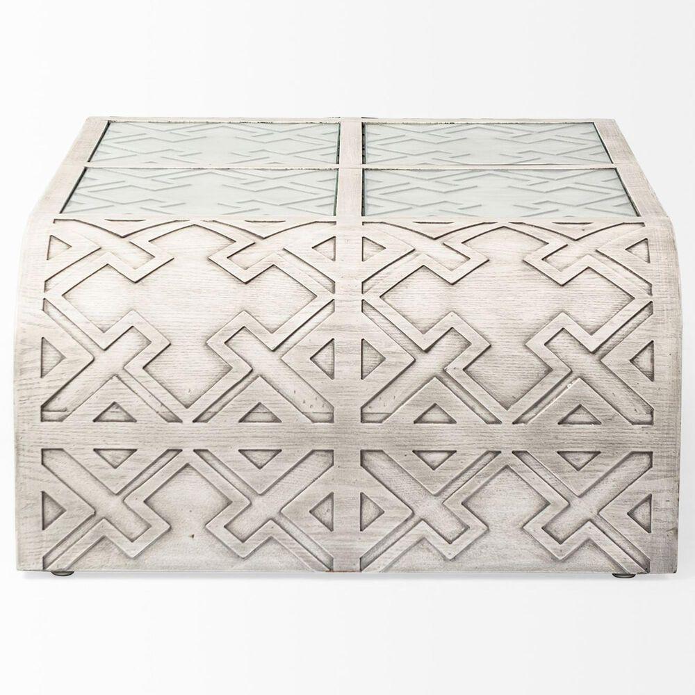 Mercana Moseley II Coffee Table in Opaque Grey, , large