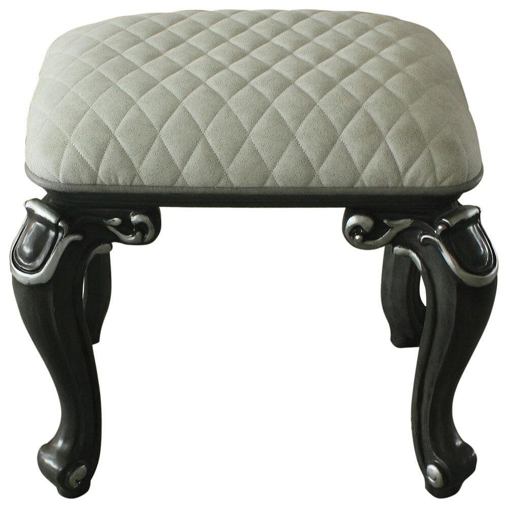 Gunnison Co. Delphine Stool in Charcoal, , large