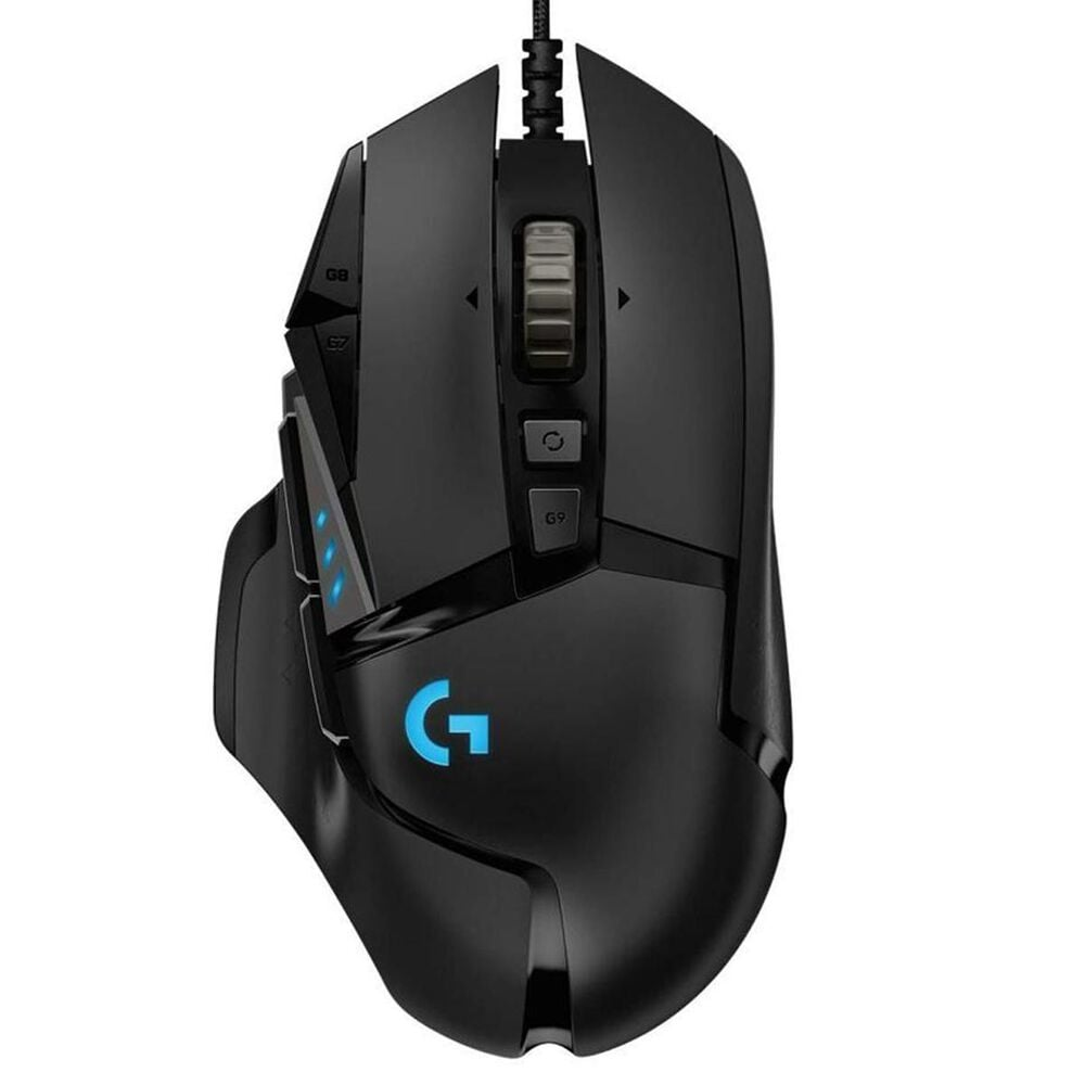 Logitech G502 Hero High Performance Gaming Mouse in Black, , large