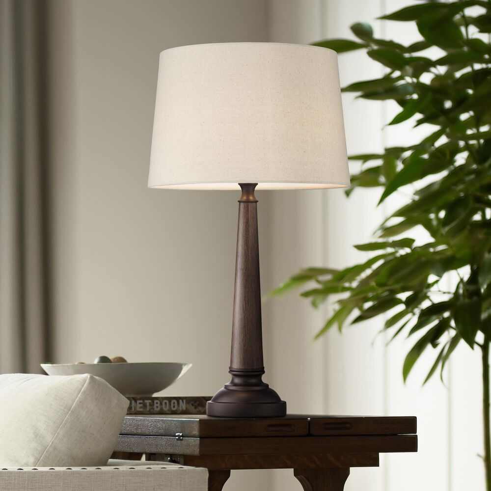 Pacific Coast Lighting Arden Table Lamp in Walnut, , large