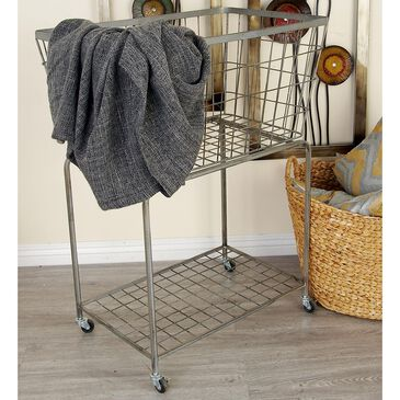 """Maple and Jade 36"""" x 28"""" Storage Basket in Grey, , large"""