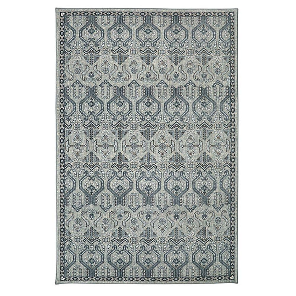 Karastan Euphoria Castine 90646 8' x 11' Willow Grey Area Rug, , large