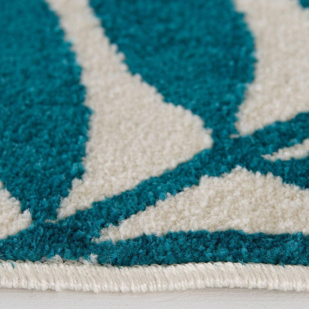 """Central Oriental Terrace Tropic Blythewood 2304NI.084 2'6"""" x 7'3"""" Multicolor Runner, , large"""