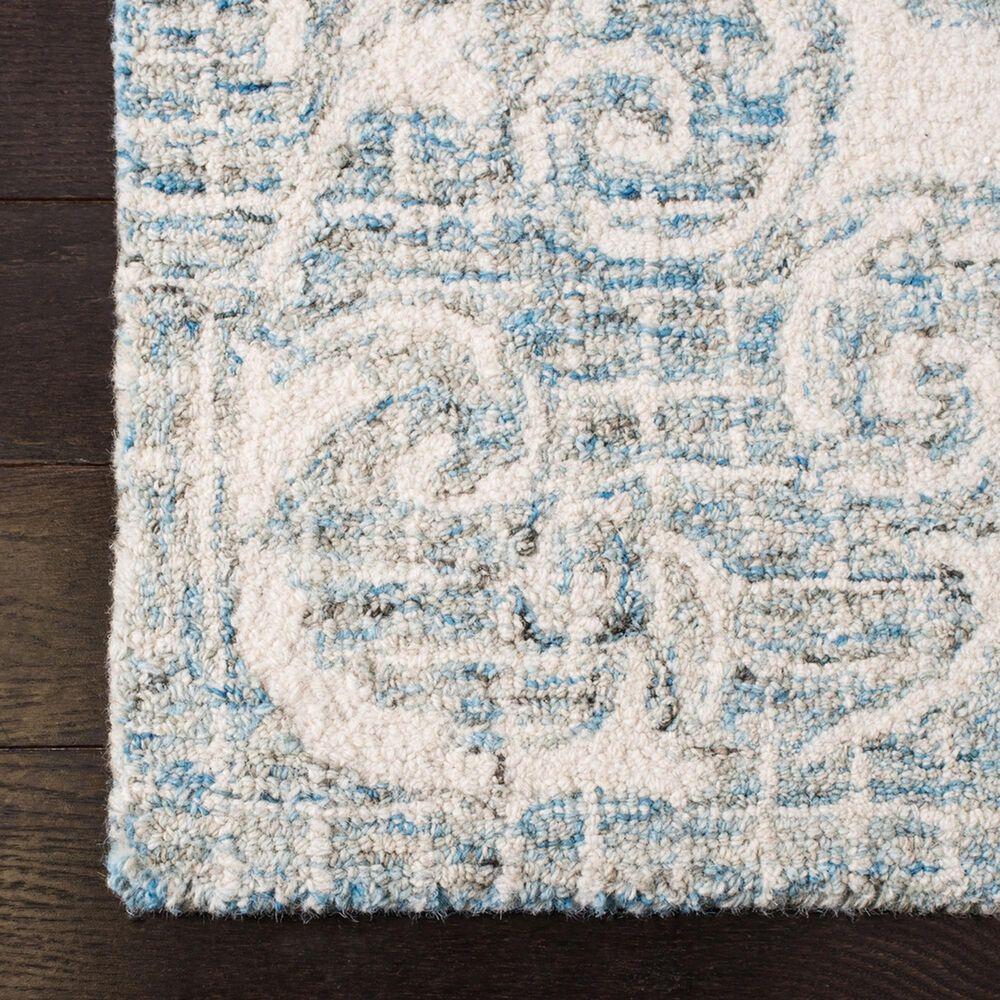 Safavieh Abstract 4' x 6' Light Blue Area Rug, , large