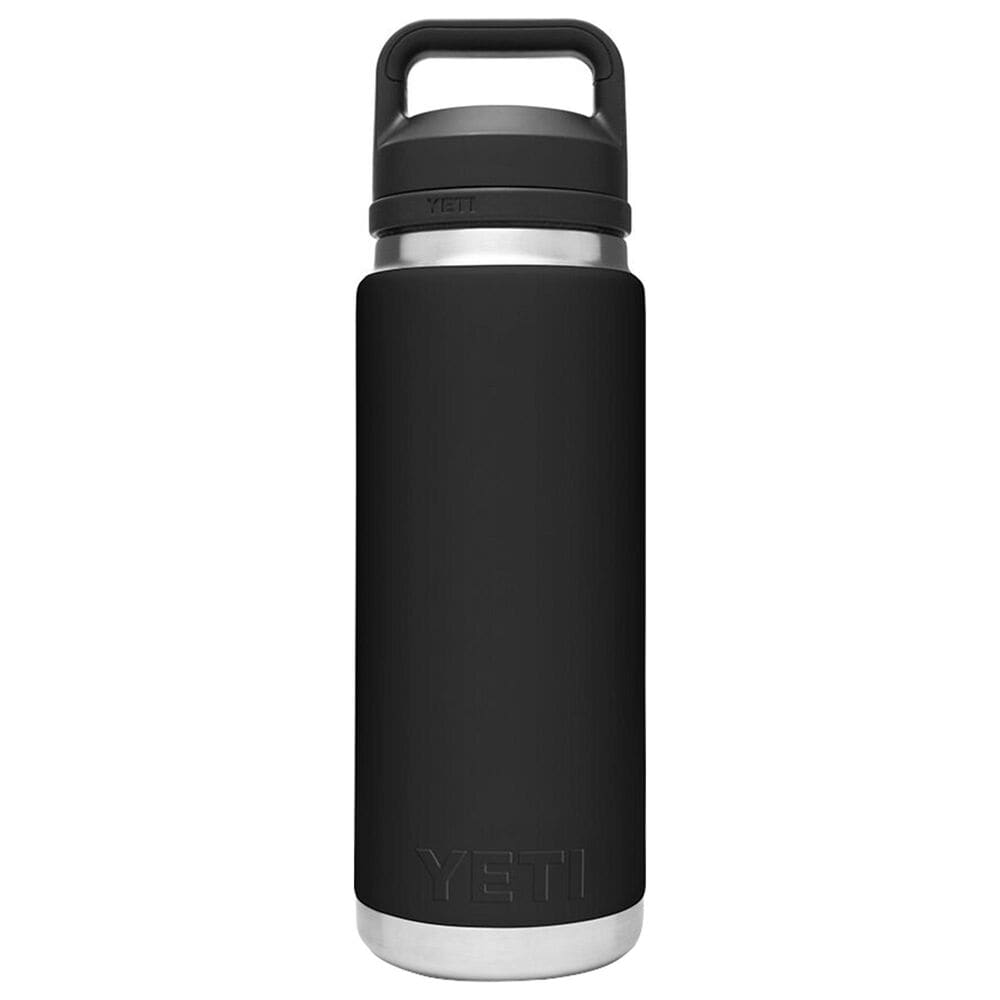 YETI Rambler 26 Oz Bottle with Chug Cap in Black, , large