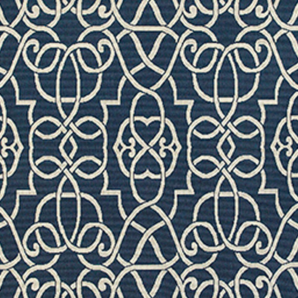"""Oriental Weavers Meridian 7'10"""" Round Navy Area Rug, , large"""